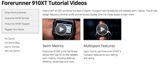 Garmin Tutorial Videos